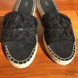 New Botkier New York slide espadrille sandals